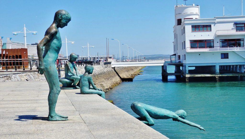 estatuas los raqueros