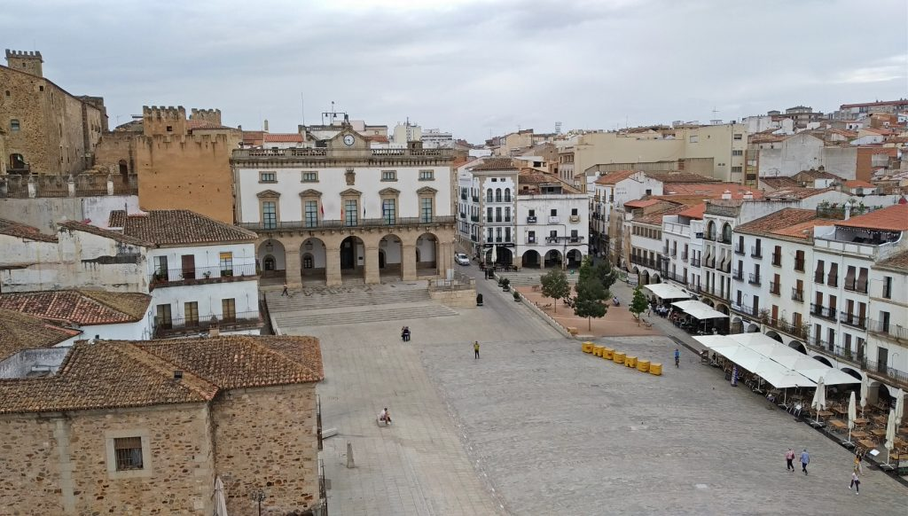 cáceres casco antiguo