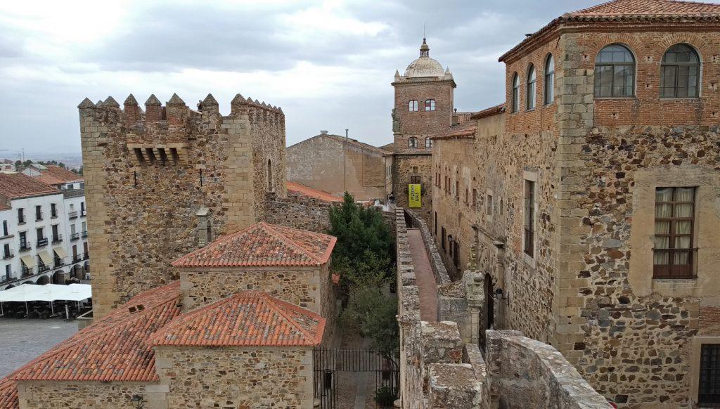 Cáceres torre medieval