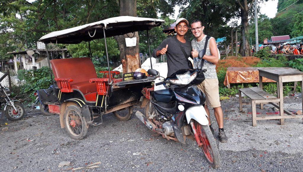 cómo moverse en Camboya