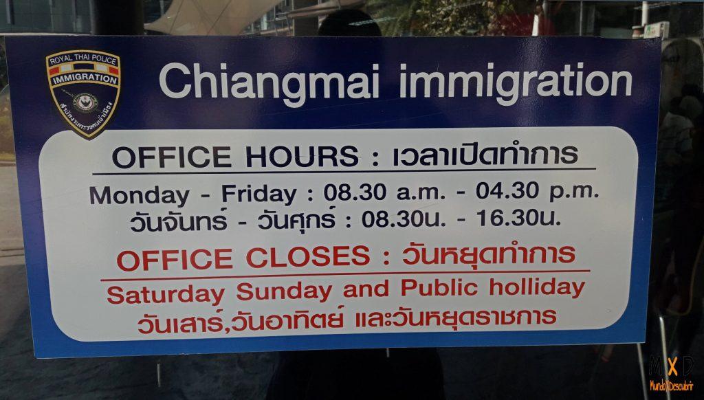 Renovación del visado Tailandia