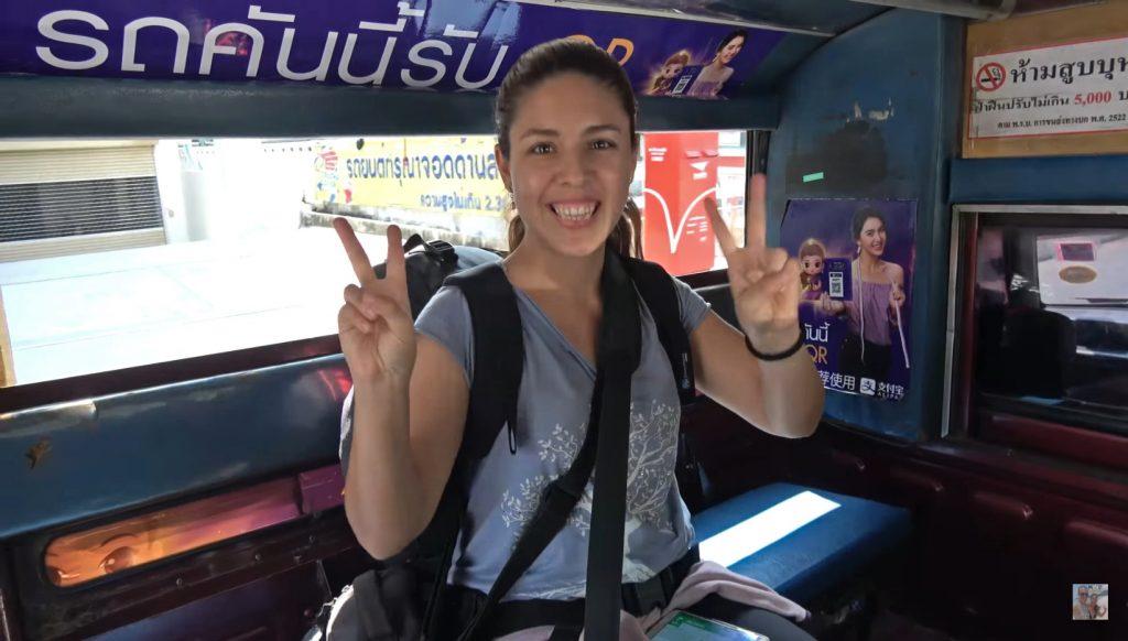 cómo moverse Tailandia