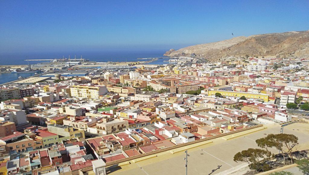 vistas de la ciudad de Almería