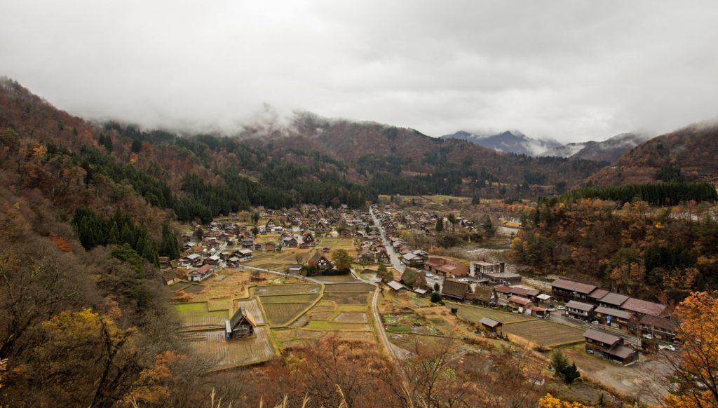 aldeas japón