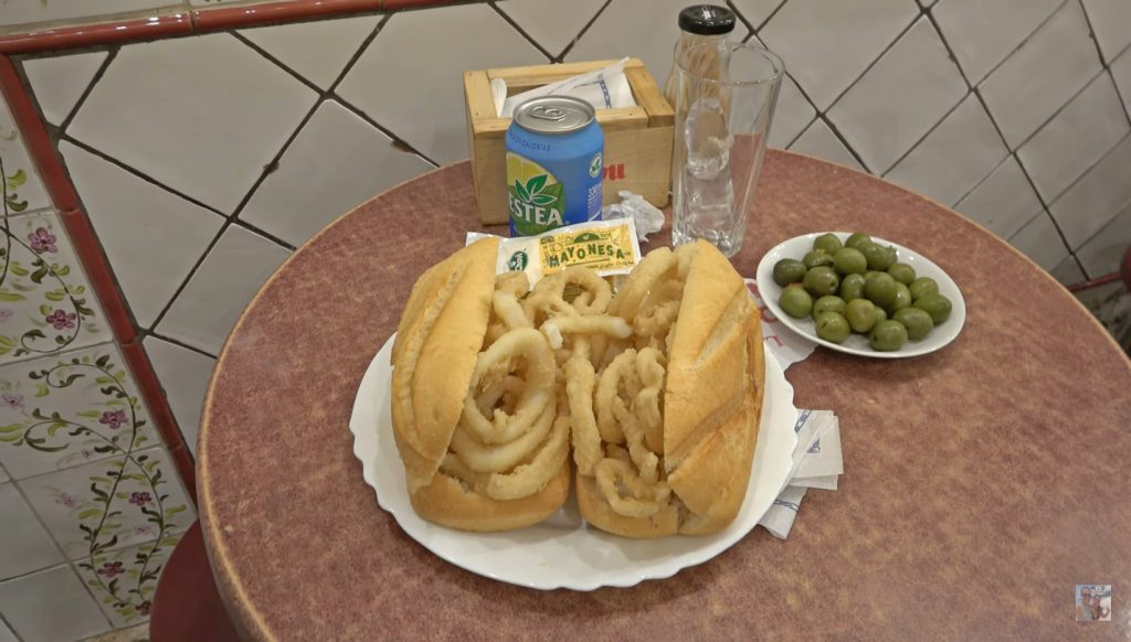 Madrid que comer