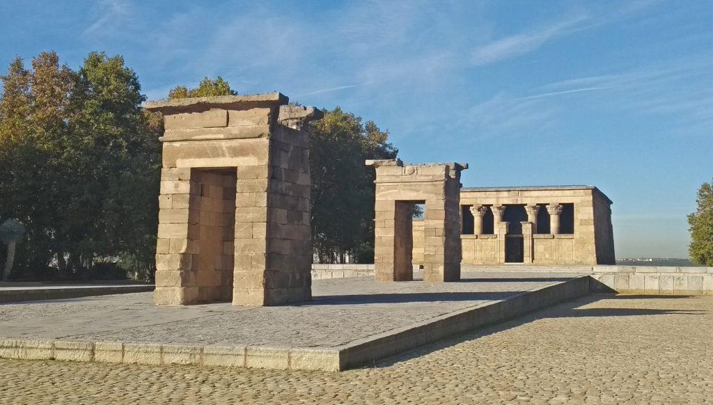Madrid templo egipcio