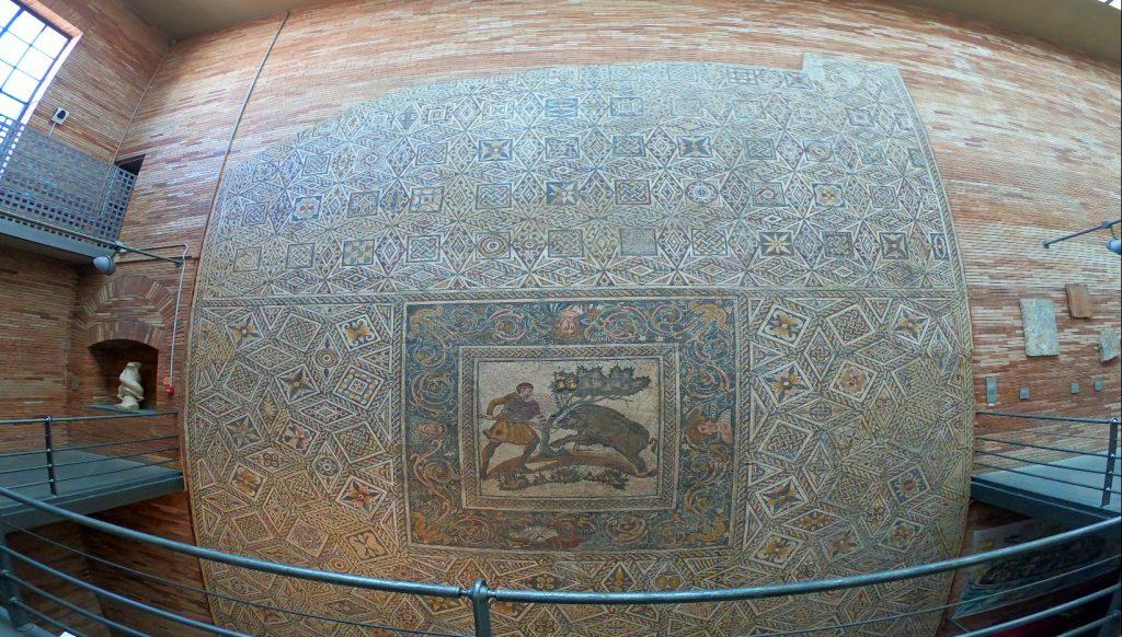Mosaicos romanos extremadura