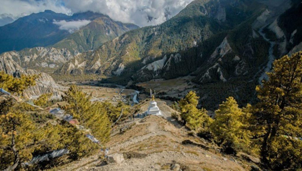 trekking por los Himalayas